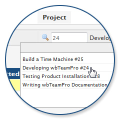 Project Ticket Dialog